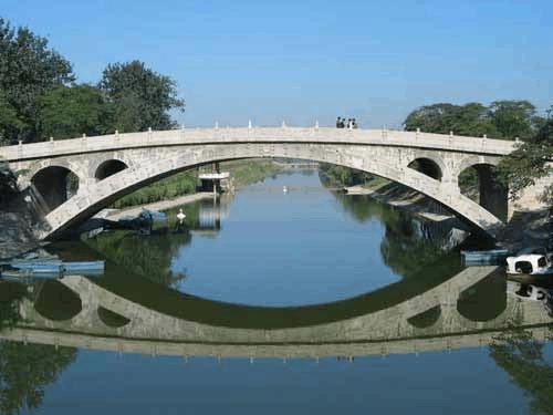 赵州桥的简单受力分析