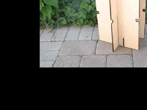 高二通用技术《容易制作的便携式小板凳》素材