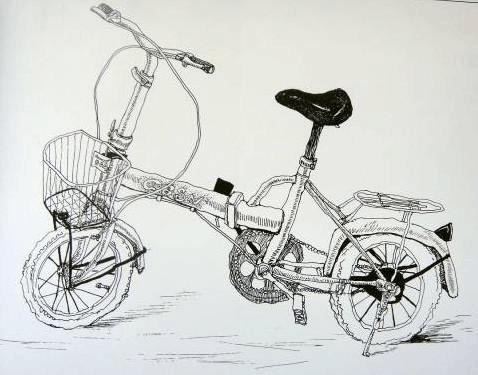 绘画教案_补充教案:线描写生画——《自行车》_word文档在线阅读与下载 ...