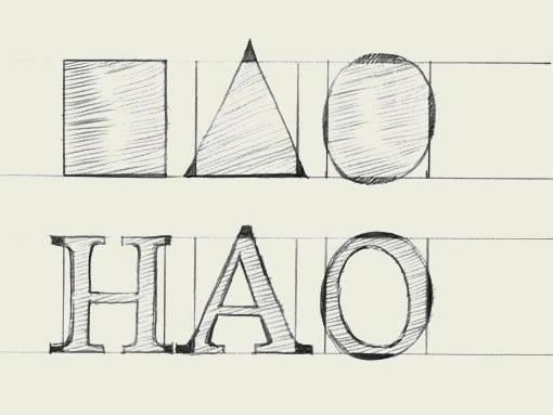 英文文档设计教程_word字体在线阅读与下载_东字标志设计图片
