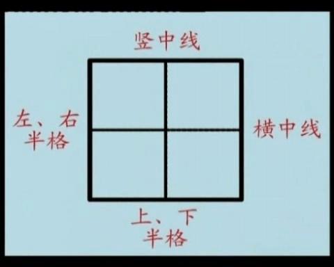 1到10的数字书写格式要求图片