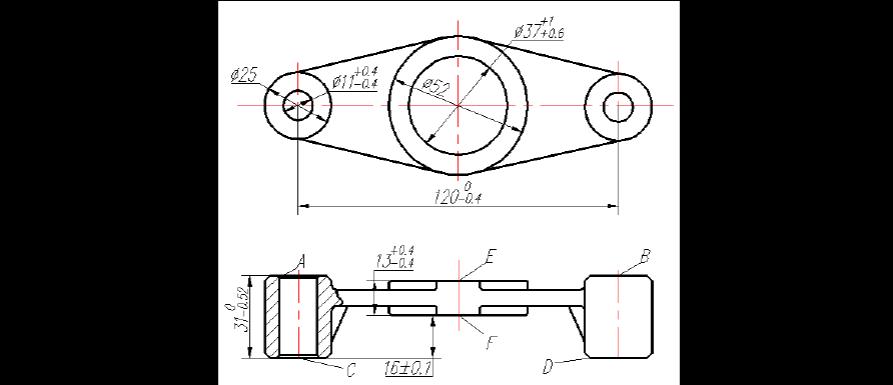 机械制造技术基础课程设计说明书正文(机床拨叉)图片
