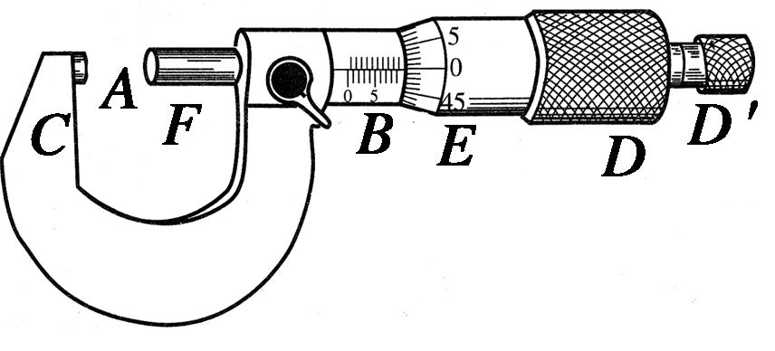 游標卡尺和螺旋測微器的讀數檢測卷圖片