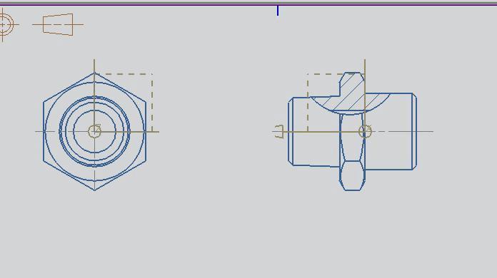 ug工程图局部剖视图的使用