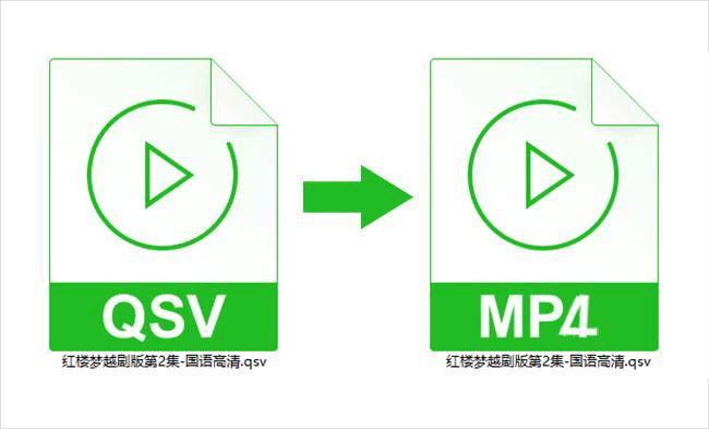 QSV格式转换成MP4格式超简单的方法