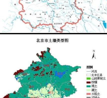 北京自然地理手抄报图片