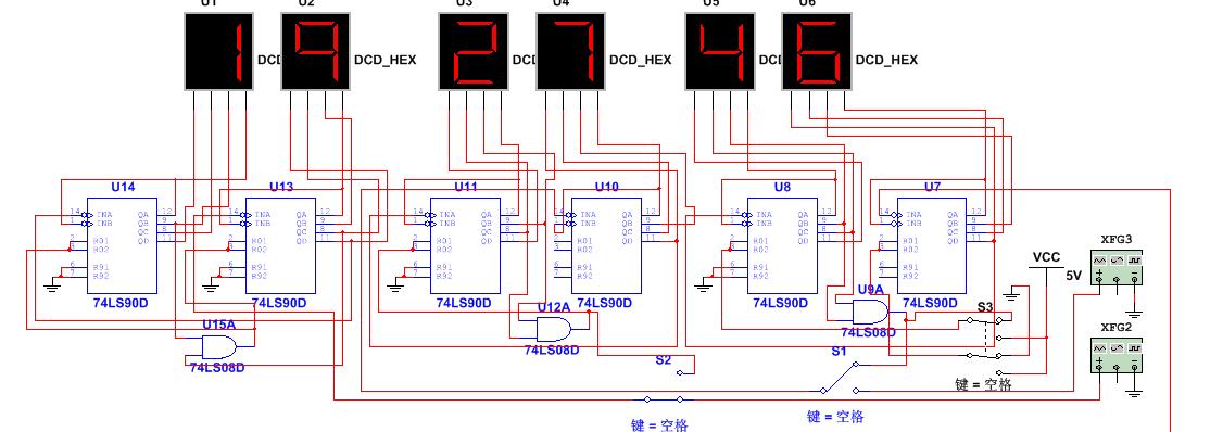 工程科技 电子/电路 哈工大电子技术大作业 数字时钟设计 秒表清零 时图片