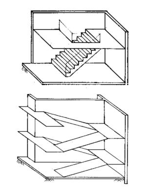 要求:3张a3平面图,2张a3立体图,1张a3剖面图,1张a3详图(楼梯)图片