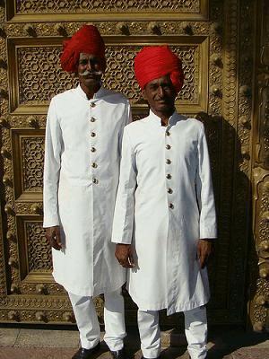 印度传统服饰