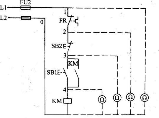 电动机控制线路的故障处理方法