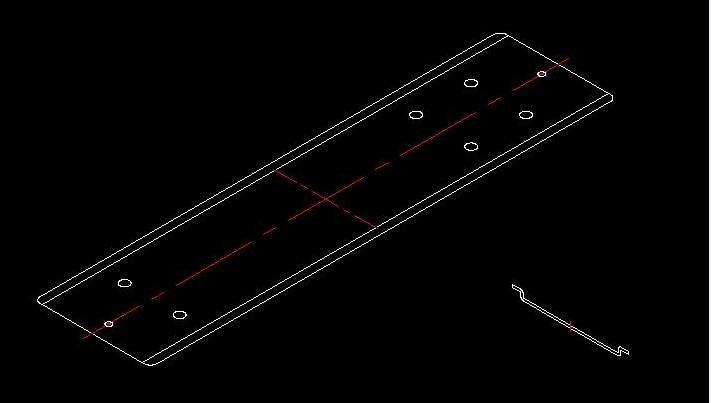 CAD三视图导入CREO生成立体图的预处理cad方形快捷键图片
