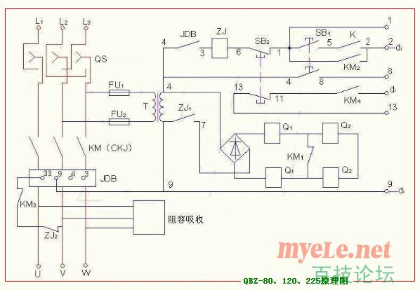 QBZ-80开关原理图详解