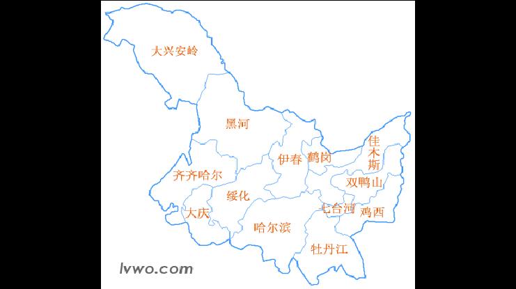 黑龙江省富锦市_5.黑龙江省地图_word文档在线阅读与下载_免费文档