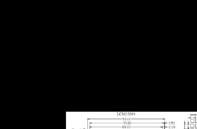 LCM12864液晶显示模块与单片机接口