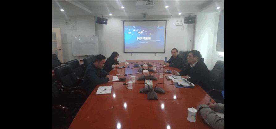 江西省赣州市章贡区科技局领导再度调研科易网