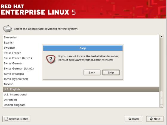 linux系统安装图解红帽5