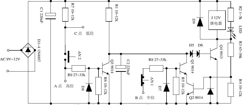(共4页,当前第1页) 你可能喜欢 控制电路图 水塔水位控制plc系统设计