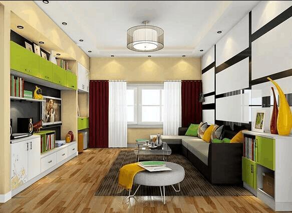 16平小客厅装修效果图 最精美的小客厅装修效果图