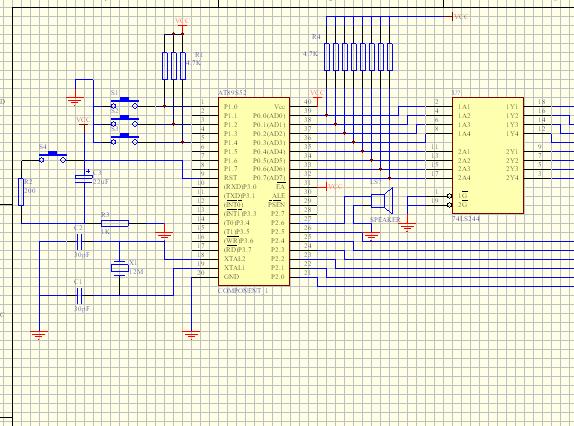 51单片机电机_拜求51单片机控制4相步进电机的驱动电路图-