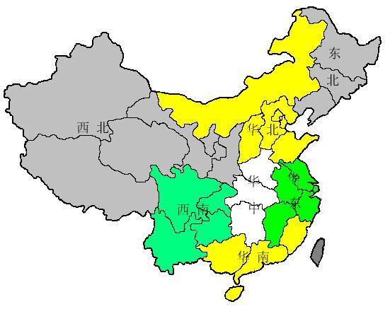 注:本报告提及到的中国七大区域分别包括省份如下:华东地区包括江苏图片