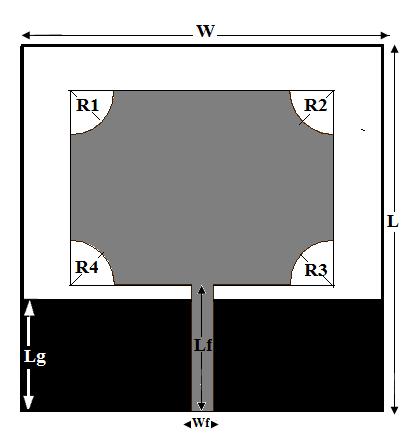 一种gsm,蓝牙和双频陷波超宽带天线的设计方法(ijwmt图片