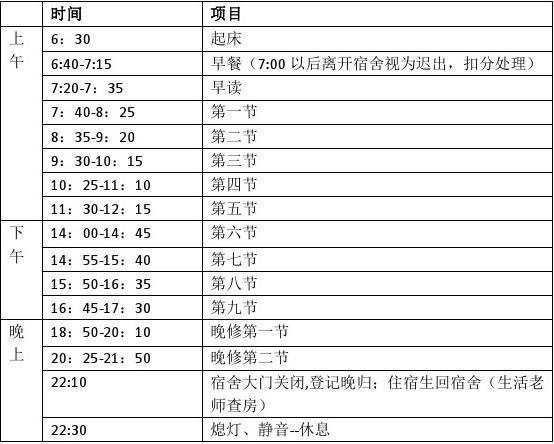 深圳科学高中美食收银时间表150906招学生超巿哪个作息林图片