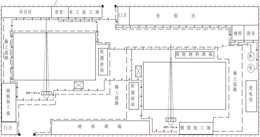 总平面图(文档)_word彩图在线阅读与下载_无忧螺旋板换热器图纸图片
