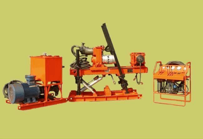 zdy3200型钻机是动力头式全液压钻机.图片