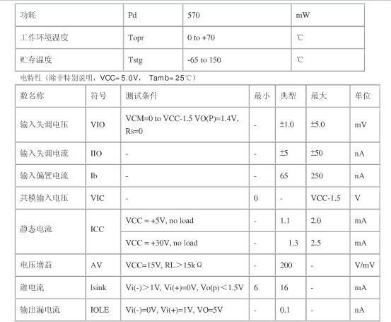 lm339中文资料