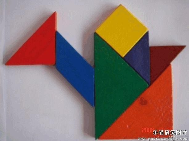七巧板拼图课件 七巧板拼图图案 七巧板拼法 七巧板动物拼图图案 七巧