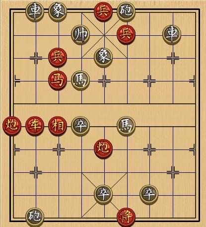 4399小游戏中国象棋残局280关图片