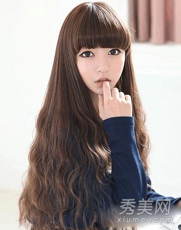 最美女生发型 10款卷发变长发公主图片