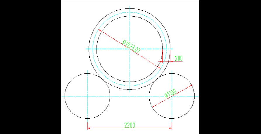 卷板机理论剩余直边的概念及画法与相关