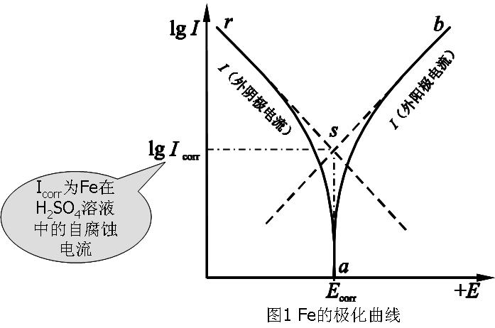 实验二 铁的极化曲线的测定