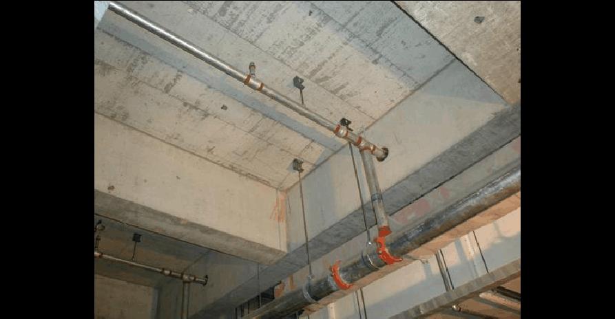 管道支架实际施工图片集