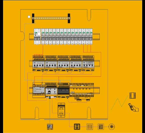 酒店公共区域智能照明灯光控制系统技术解决方案-翊创智能