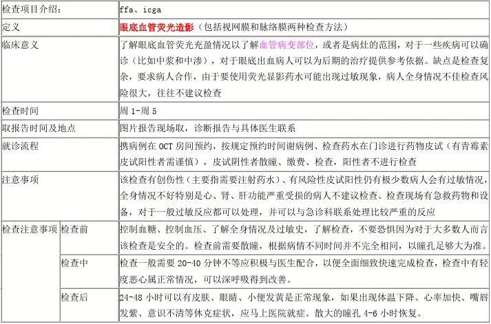 上海市眼科专科医院_眼科专科检查表简介_文档下载