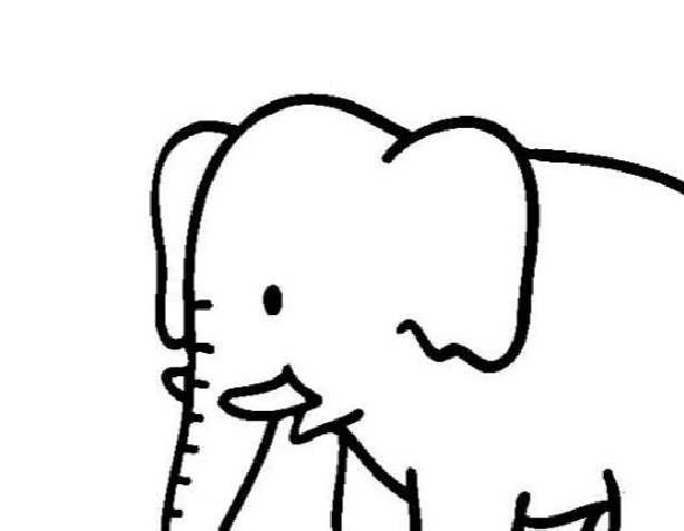 幼儿涂色可爱卡通简笔画-可用A4纸直接打印