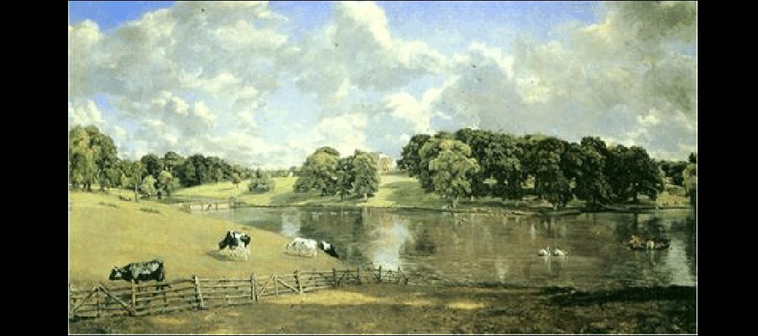 世界油画风景-大师风景油画作品ppt图片