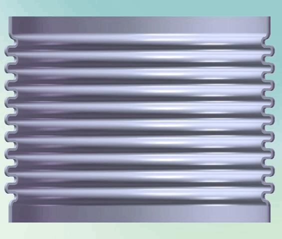 一种小直径厚壁Inconel625波纹管研制