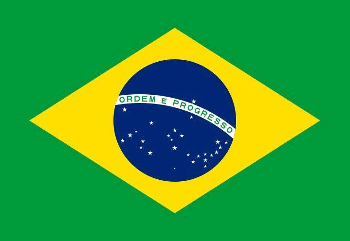 巴西的国旗 15a4旅游电子小报成品,游记电脑手抄报模板,旅行导游电子