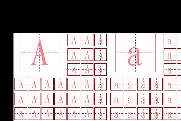 26个英文字母大小写描红图片