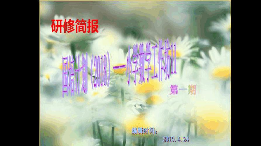 研修简报 (1)