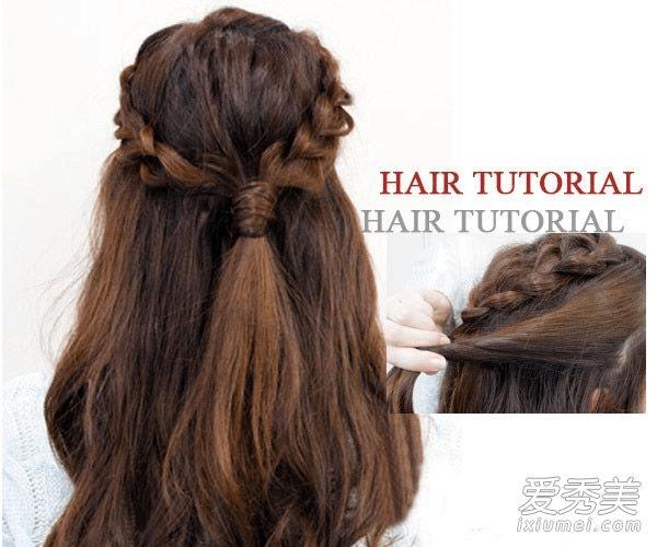 春季怎么扎头发好看 2款编发不用发圈就能搞定图片
