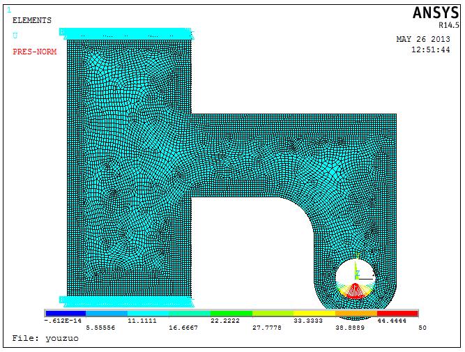 Ansys中轴孔处正弦、随位置变化载荷的施加方法