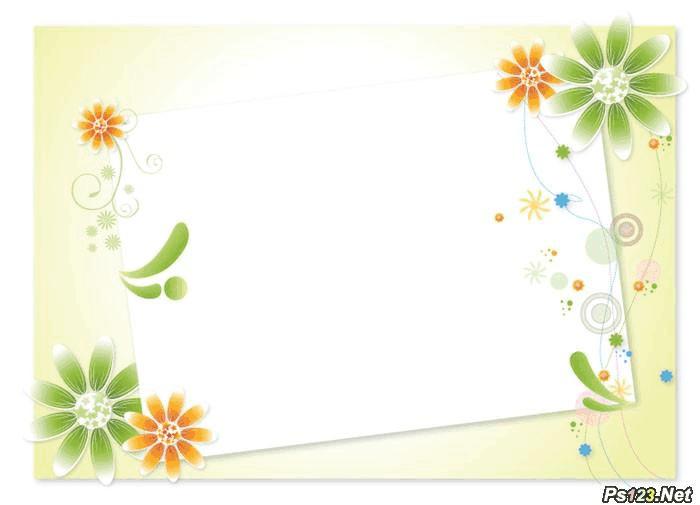 精选美丽边框素材(适用于电子报或ppt)_word文档在线图片