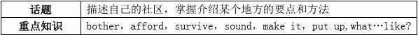 17届高三英语一轮复习Module4ASocialSurvey_MyNeighbourhood阅读案外研版必修1答案