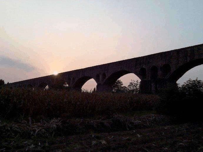 四川绵阳三台县新鲁镇石桥风景