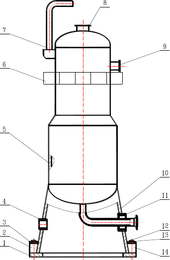 塔式容器制造通用工艺规程(修)图片