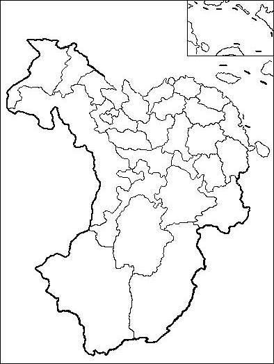 1.中国地图填空图片